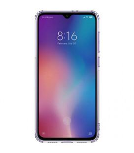 """Dėklas """"Smart Magnet"""" Samsung A505 A50 rožinis-auksinis"""