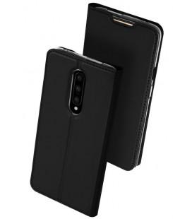 """Juodas atverčiamas dėklas Oneplus 7 Pro telefonui """"Dux Ducis Skin"""""""