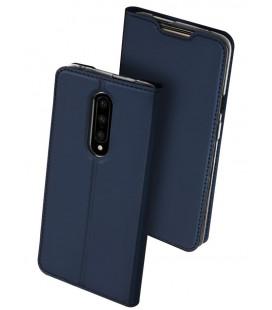 """Tamsiai mėlynas atverčiamas dėklas Oneplus 7 Pro telefonui """"Dux Ducis Skin"""""""