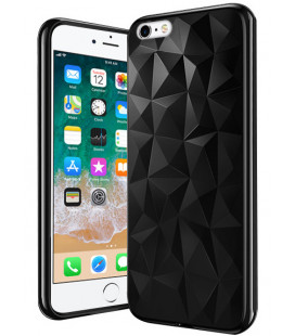 "Juodas dėklas Apple iPhone 6/6s telefonui ""Diamond Case"""
