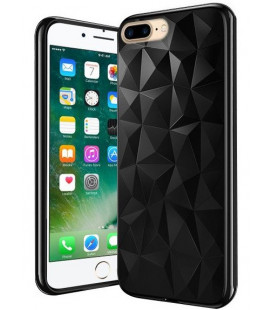 "Juodas dėklas Apple iPhone 7 Plus / 8 Plus telefonui ""Diamond Case"""