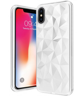 "Baltas dėklas Apple iPhone X telefonui ""Diamond Case"""