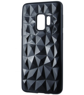 """Juodas dėklas Samsung Galaxy A6 2018 telefonui """"Diamond Case"""""""