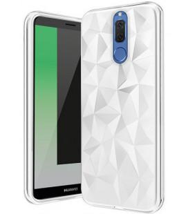"""Baltas dėklas Huawei Mate 10 Lite telefonui """"Diamond Case"""""""