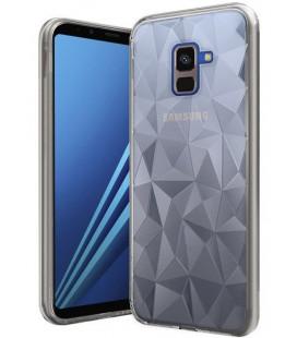 """Skaidrus dėklas Samsung Galaxy A8 2018 telefonui """"Diamond Case"""""""