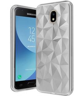 """Skaidrus dėklas Samsung Galaxy J7 2017 telefonui """"Diamond Case"""""""