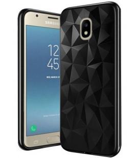"""Juodas dėklas Samsung Galaxy J7 2017 telefonui """"Diamond Case"""""""
