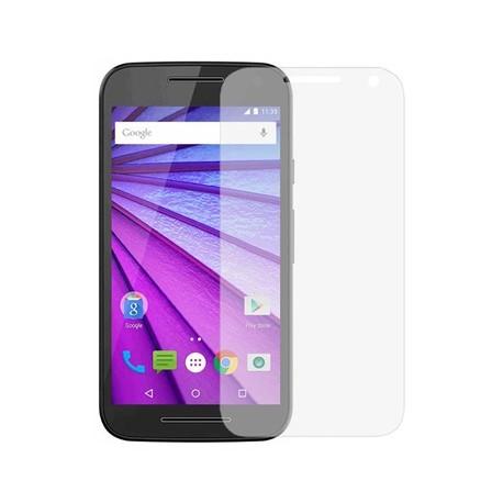 """Apsauginė ekrano plėvelė - grūdintas stiklas """"Tempered Glass"""" Motorola Moto G3 (2015) telefonui."""