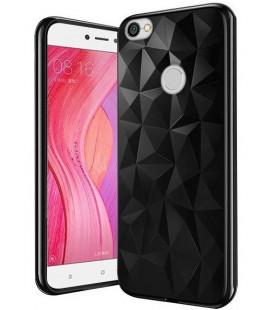 """Juodas dėklas Xiaomi Redmi Note 5A telefonui """"Diamond Case"""""""
