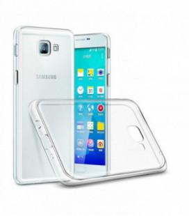 """Auksinės spalvos atverčiamas dėklas Samsung Galaxy A40 telefonui """"Dux Ducis Skin"""""""