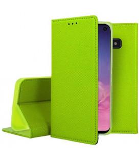 """Žalias atverčiamas dėklas Samsung Galaxy S10E telefonui """"Smart Book Magnet"""""""