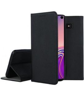 """Juodas atverčiamas dėklas Samsung Galaxy S10E telefonui """"Smart Book Magnet"""""""