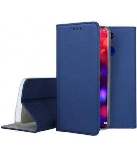 """Mėlynas atverčiamas dėklas Huawei Honor View 20 telefonui """"Smart Book Magnet"""""""