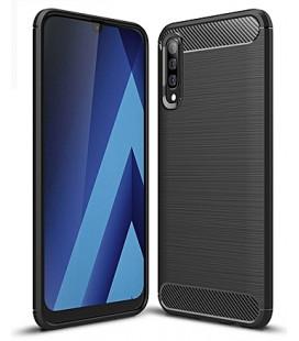 """Auksinės spalvos atverčiamas dėklas Samsung Galaxy A40 telefonui """"Telone Fancy"""""""