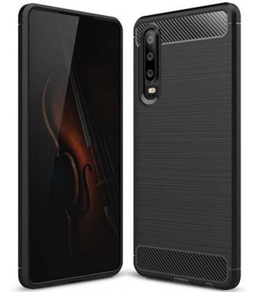 """Juodas dėklas Huawei P30 telefonui """"Tech-Protect"""""""