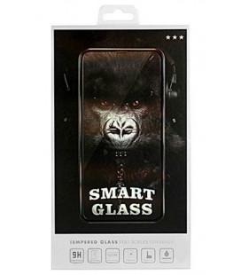 """Juodas apsauginis grūdintas stiklas Samsung Galaxy A70 telefonui """"Smart Glass"""""""