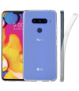 """5D Lenktas juodas apsauginis grūdintas stiklas Huawei Y7 2019 telefonui """"Full Glue"""""""