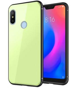 "Žalias dėklas Xiaomi Mi A2 Lite telefonui ""Glass Case"""