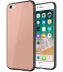 "Rožinis dėklas Apple iPhone 6/6s telefonui ""Glass Case"""
