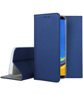 Samsung Galaxy A9 2018 Mėlynas atverčiamas dėklas Smart Book Magnet