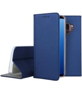 """Mėlynas atverčiamas dėklas Samsung Galaxy S9 telefonui """"Smart Book Magnet"""""""