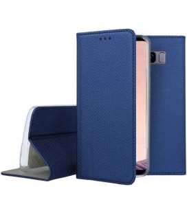 """Mėlynas atverčiamas dėklas Samsung Galaxy S8 Plus telefonui """"Smart Book Magnet"""""""