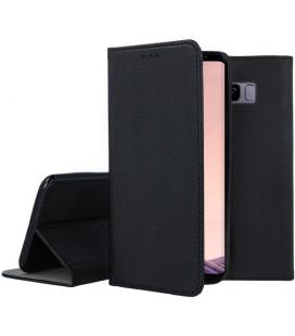 """Juodas atverčiamas dėklas Samsung Galaxy S8 telefonui """"Smart Book Magnet"""""""