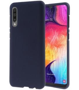 """Tamsiai mėlynas silikoninis dėklas Samsung Galaxy A50 telefonui """"Mercury Soft Feeling"""""""