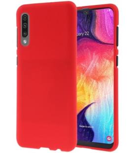 """Raudonas silikoninis dėklas Samsung Galaxy A50 telefonui """"Mercury Soft Feeling"""""""