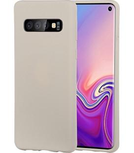 """Pilkas silikoninis dėklas Samsung Galaxy S10 Plus telefonui """"Mercury Soft Feeling"""""""
