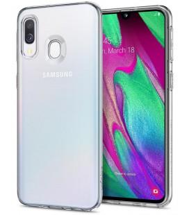 "Skaidrus dėklas Samsung Galaxy A40 telefonui ""Spigen Liquid Crystal"""