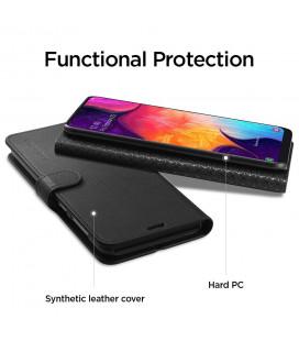 """Odinis rudas atverčiamas klasikinis dėklas Samsung Galaxy A20E telefonui """"Book Special Case"""""""