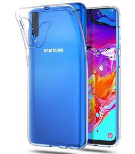 """Skaidrus dėklas Samsung Galaxy A70 telefonui """"Tech-Protect Flexair"""""""