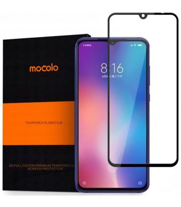 """Juodas apsauginis grūdintas stiklas Xiaomi Mi9 telefonui """"Mocolo"""""""