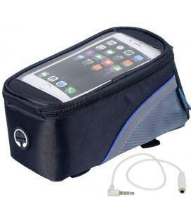 """Universalus mėlynas dviračio dėklas telefonui - krepšys (5.5') """"Roswheel"""""""