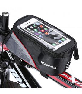 """Universalus raudoas dviračio dėklas telefonui - krepšys (5.5') """"Roswheel"""""""