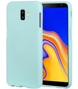 """Mėtos spalvos silikoninis dėklas Samsung Galaxy J6 Plus 2018 telefonui """"Mercury Soft Feeling"""""""