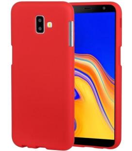 """Raudonas silikoninis dėklas Samsung Galaxy J6 Plus 2018 telefonui """"Mercury Soft Feeling"""""""