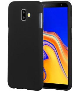 """Juodas silikoninis dėklas Samsung Galaxy J6 Plus 2018 telefonui """"Mercury Soft Feeling"""""""
