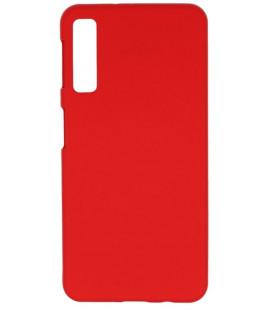 """Raudonas silikoninis dėklas Samsung Galaxy A7 2018 telefonui """"Mercury Soft Feeling"""""""