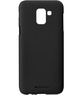 """Juodas silikoninis dėklas Samsung Galaxy J6 2018 telefonui """"Mercury Soft Feeling"""""""