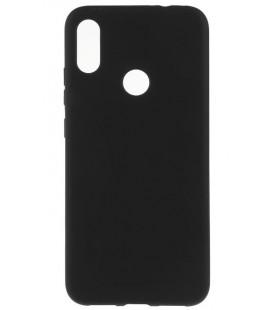 """Juodas silikoninis dėklas Xiaomi Redmi Note 7 telefonui """"Mercury Soft Feeling"""""""