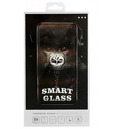 """Juodas apsauginis grūdintas stiklas Samsung Galaxy A80/A90 telefonui """"Smart Glass"""""""