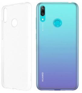 """Skaidrus silikoninis dėklas Huawei Y6 2019 telefonui """"Clear"""""""