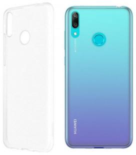 "Skaidrus silikoninis dėklas Huawei Y7 2019/Y7 Prime 2019 telefonui ""Clear"""