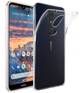 """Skaidrus silikoninis dėklas Nokia 4.2 telefonui """"Clear"""""""