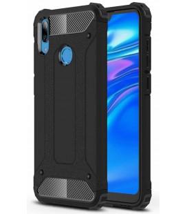"""Juodas dėklas Huawei Y7 2019/Y7 Prime 2019 telefonui """"Hybrid Armor Case"""""""