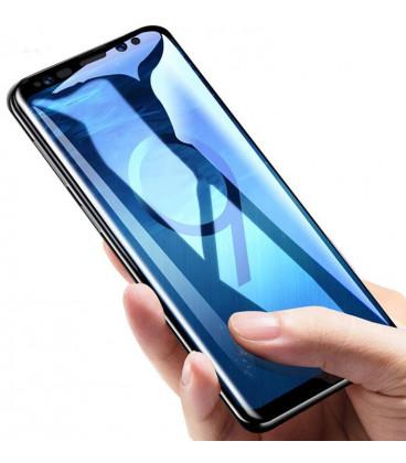 """6D Lenktas juodas apsauginis grūdintas stiklas Huawei P30 telefonui """"Wozinsky Full Glue CF"""""""