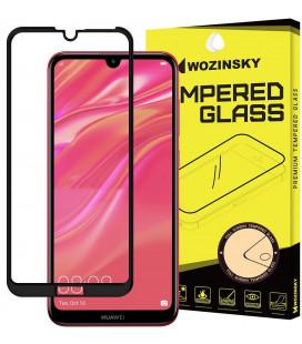 """Juodas apsauginis grūdintas stiklas Huawei Y7 2019/Y7 Pro 2019/Y7 Prime 2019 telefonui """"Wozinsky Full Glue"""""""
