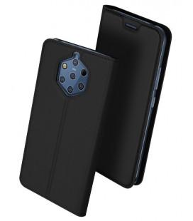 """Juodas atverčiamas dėklas Nokia 9 Pureview telefonui """"Dux Ducis Skin"""""""